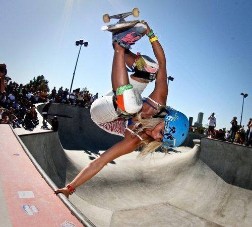 Womans Pro Skater Lynn-Z
