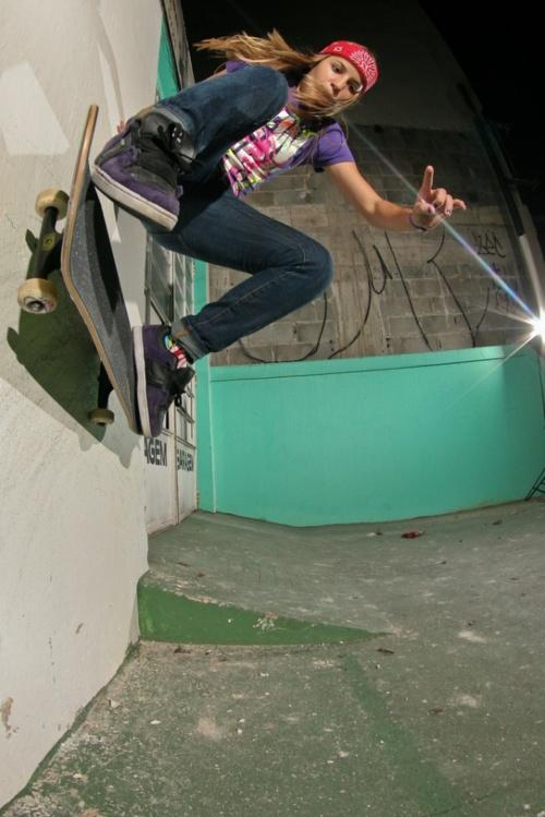 Skater Girls Have The Goods Like The Boys Do
