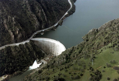 Were the glory hole dam apologise