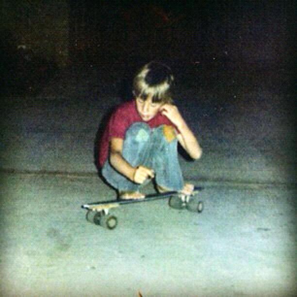 Young Tony Hawk's 1st Skateboard | Gøηє ツ Ska†îηg
