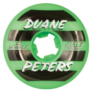 OJ Skateboard Wheels - Duane Peters Green