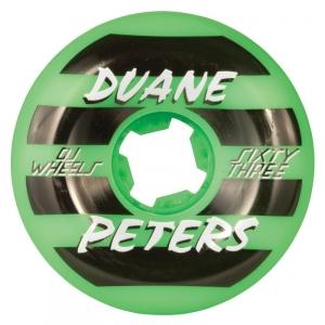 OJ Skateboard Wheels - Duane Peters Green