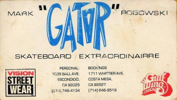 Gators Business Card