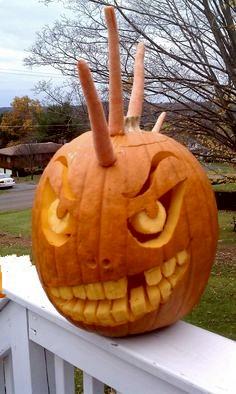 Punk Pumpkin 2