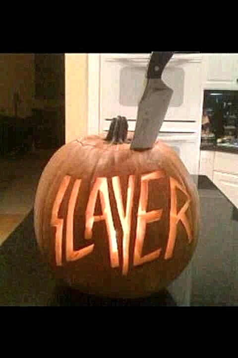 SLAYER Pumpkin