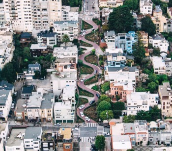 Image result for san francisco famous hill