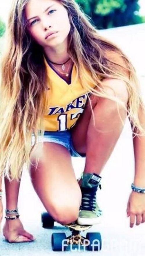 Girl Cute Skater