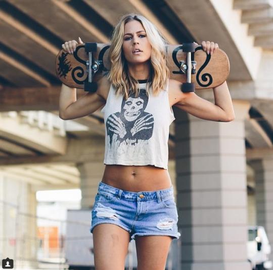 Girl Misfit Skater