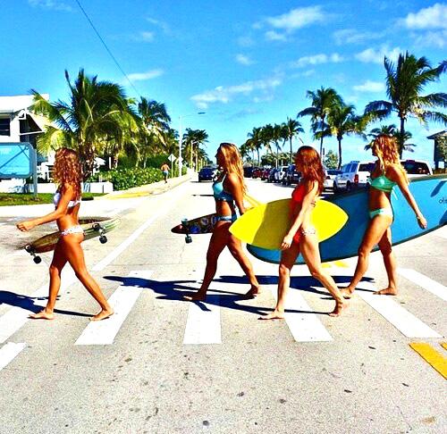 Girls Beach Life