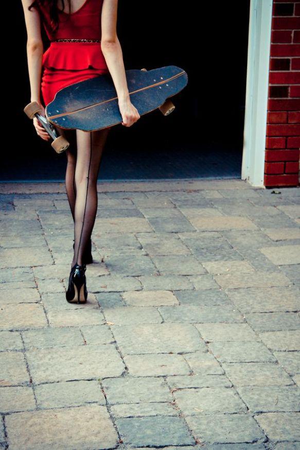 Skate High Heels
