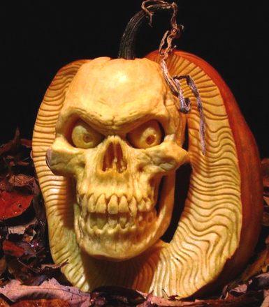 scary-skull-pumpkin